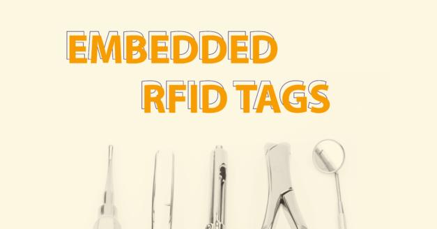 Embedded RFID tags